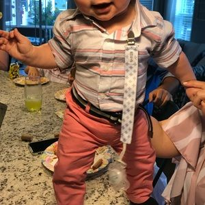 Other - Matchable button down and pink pants!!